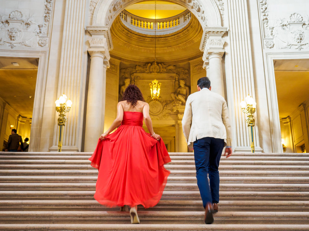 San Francisco City Hall Engagement Photo Session-6.jpg