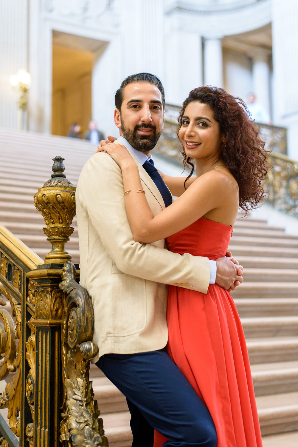 San Francisco City Hall Engagement Photo Session-7.jpg