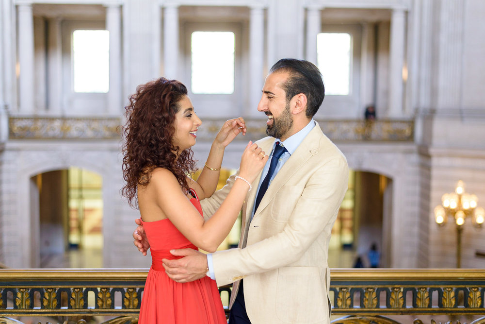 San Francisco City Hall Engagement Photo Session-9.jpg