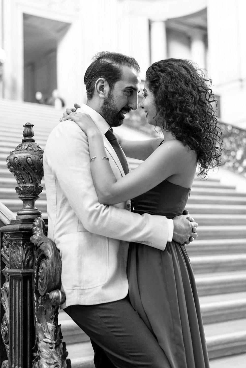 San Francisco City Hall Engagement Photo Session.jpg