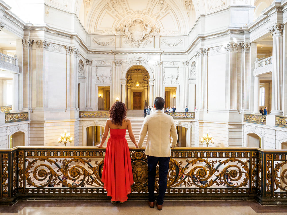 San Francisco City Hall Engagement Photo Session-10.jpg