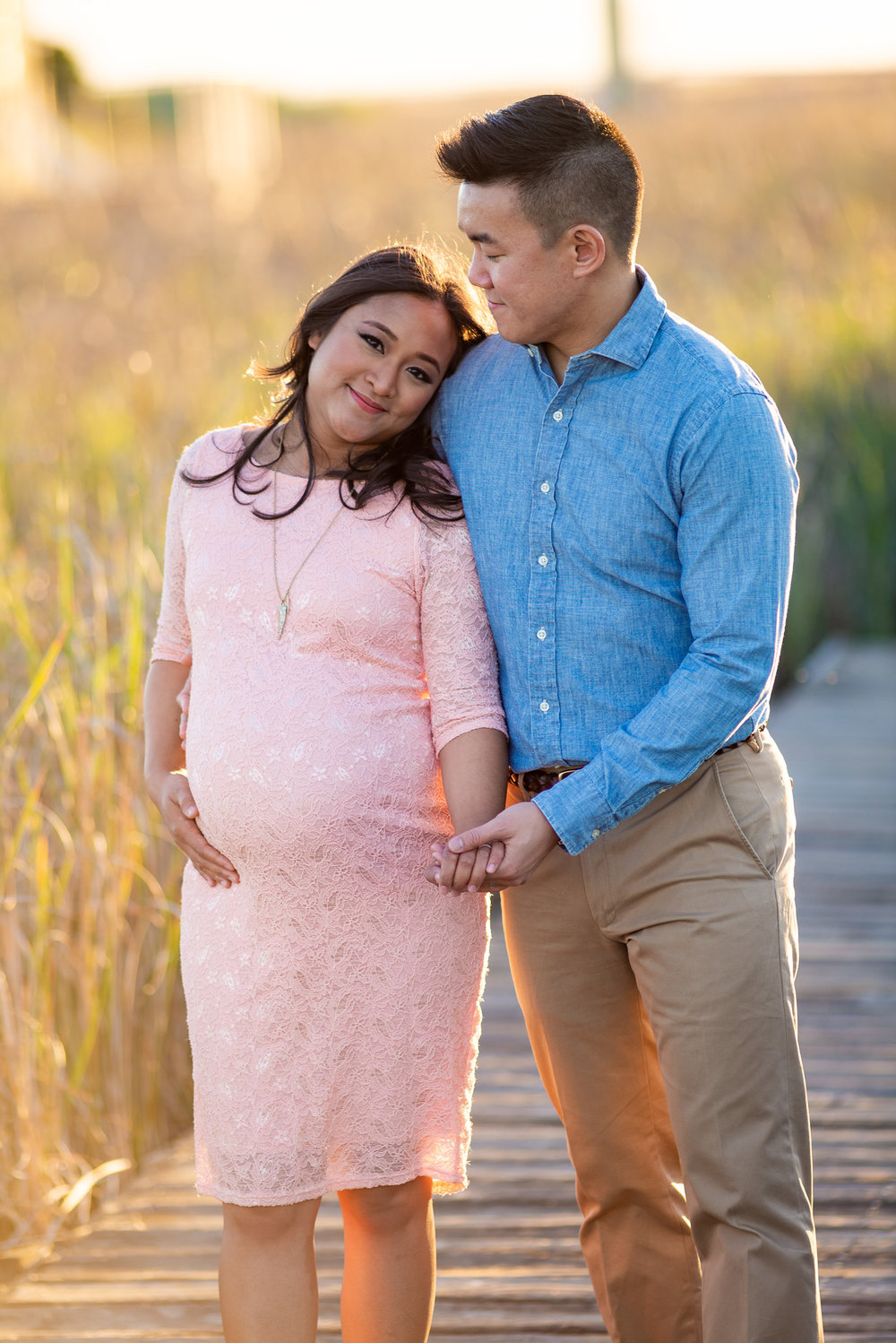 Evening Sunset Maternity Photo Shoot-10.jpg
