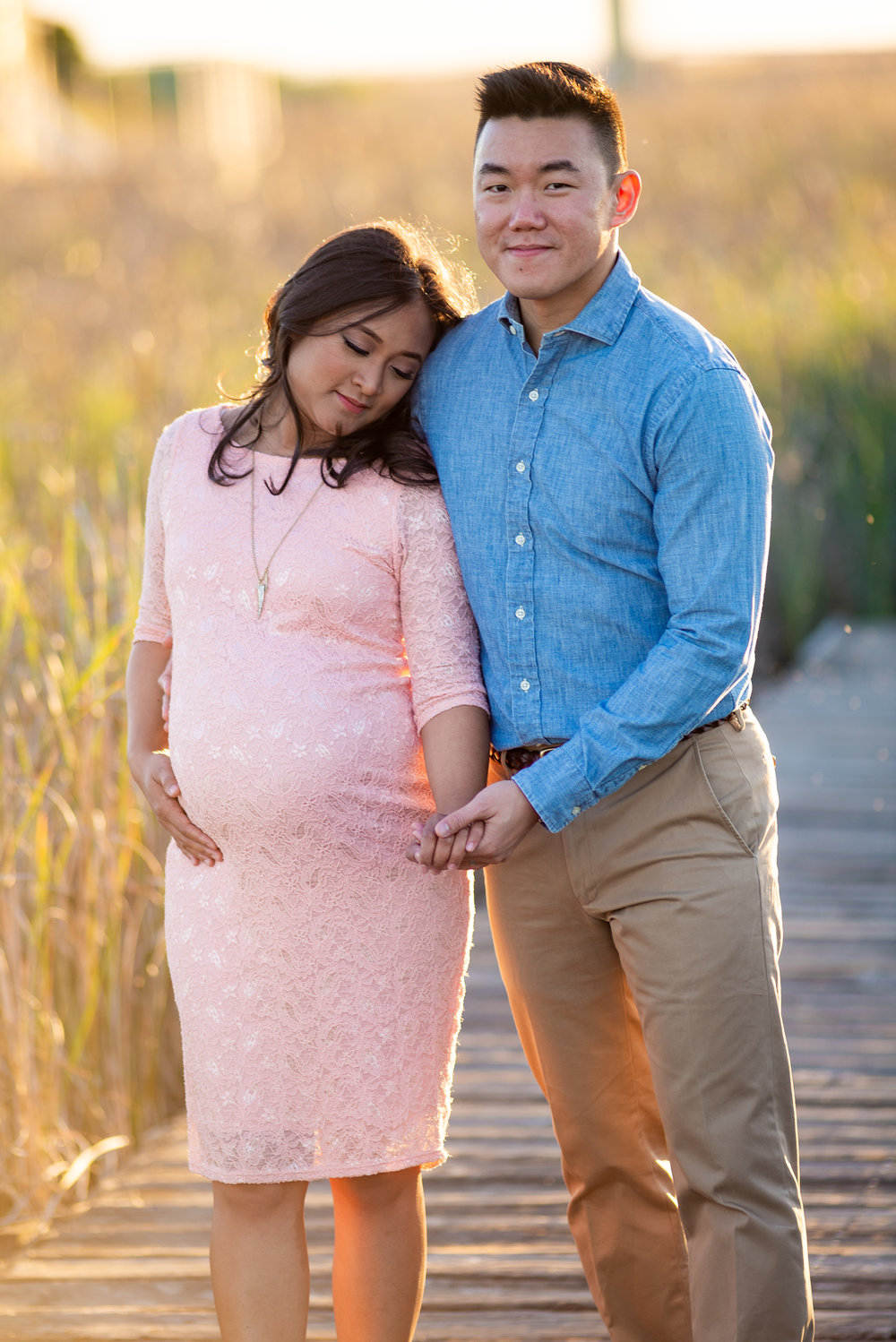 Evening Sunset Maternity Photo Shoot-17-3.jpg
