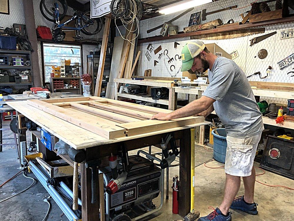 Building a front door -