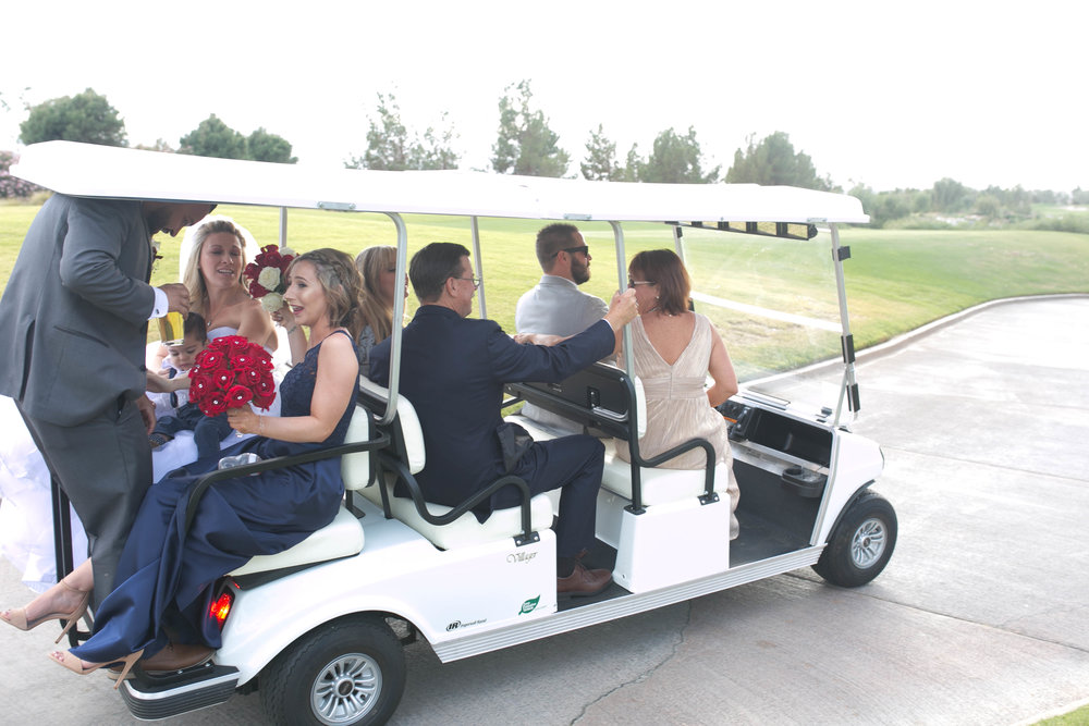 Ummmmmm, lets just not talk about the Golf Club Rides.... :)