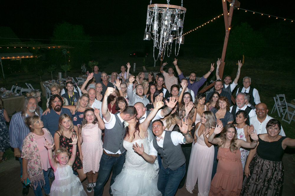 I love taking big group photos at weddings..... they are sometimes my favorites and couples LOVE them