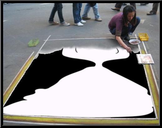Street artist,berlin