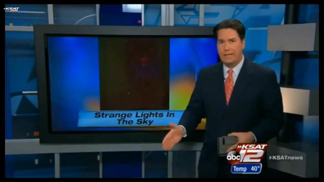 Strange, light, in the sky