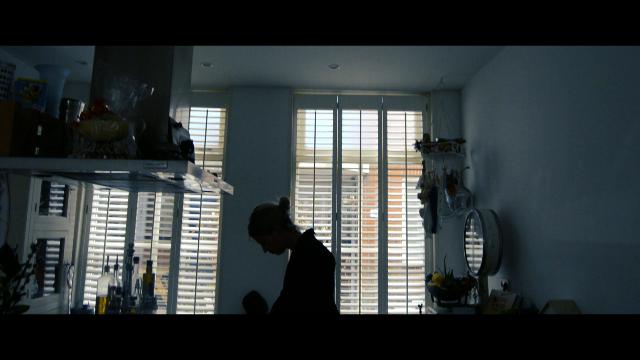 Kitchen, wake up, flashback