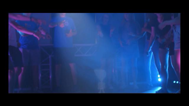 Dancefloor, music, lights, people