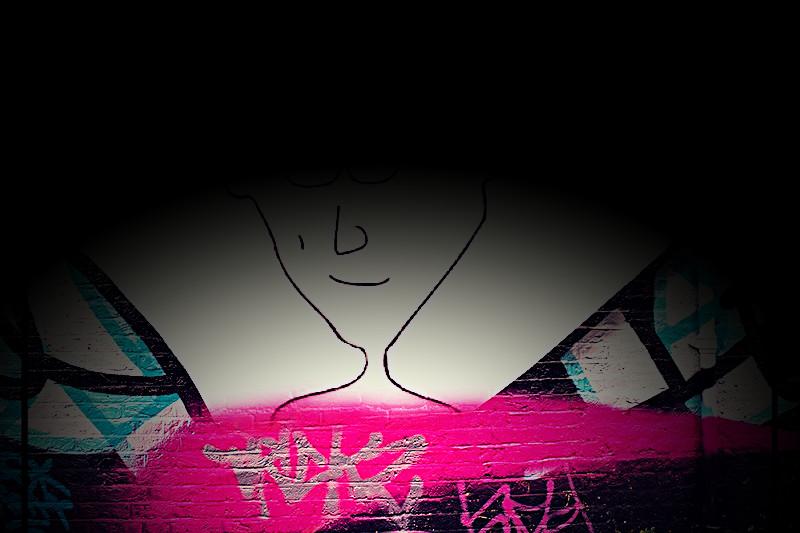 wall, cartoon, Marty Mart