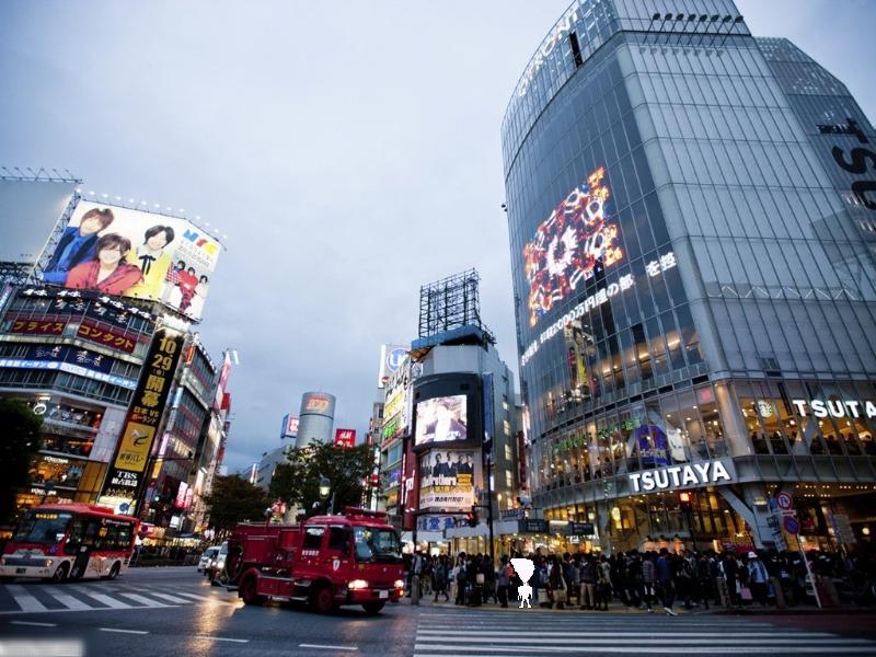 Tokyo, videowall