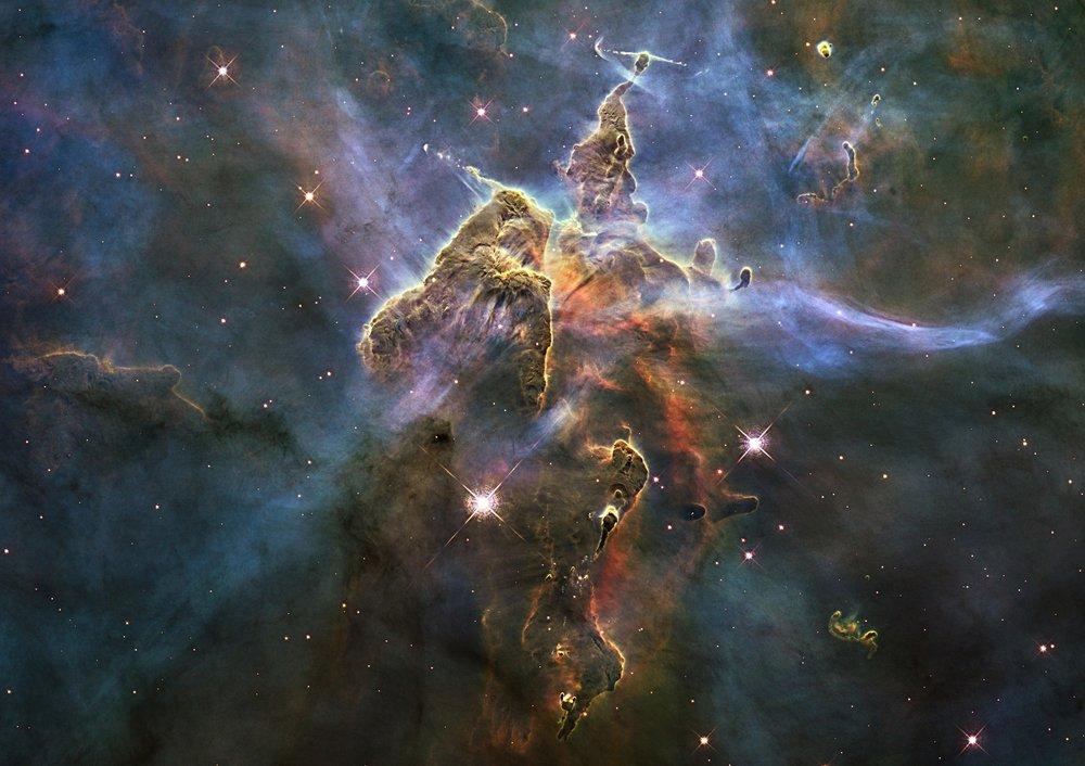 Galaxy, stars, planets