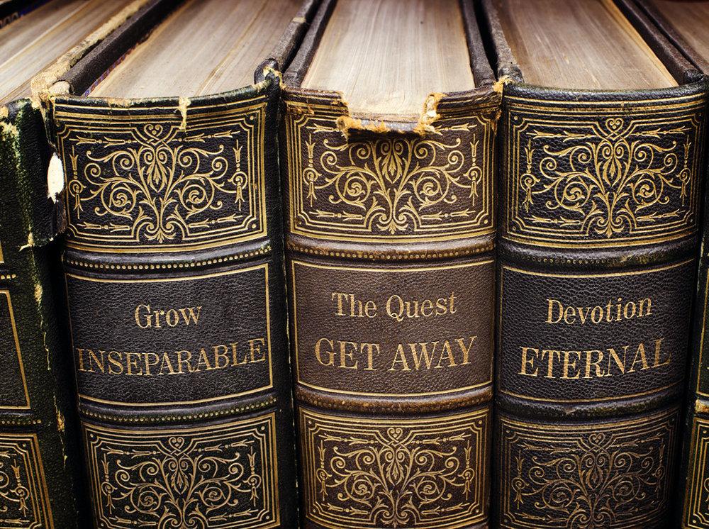 Books, Grow, the Quest, Devotion