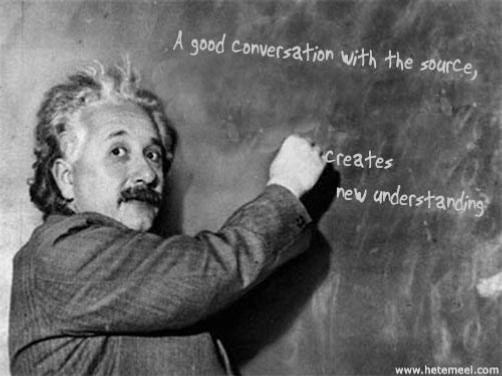Einstein, already communicated with Marty Mart