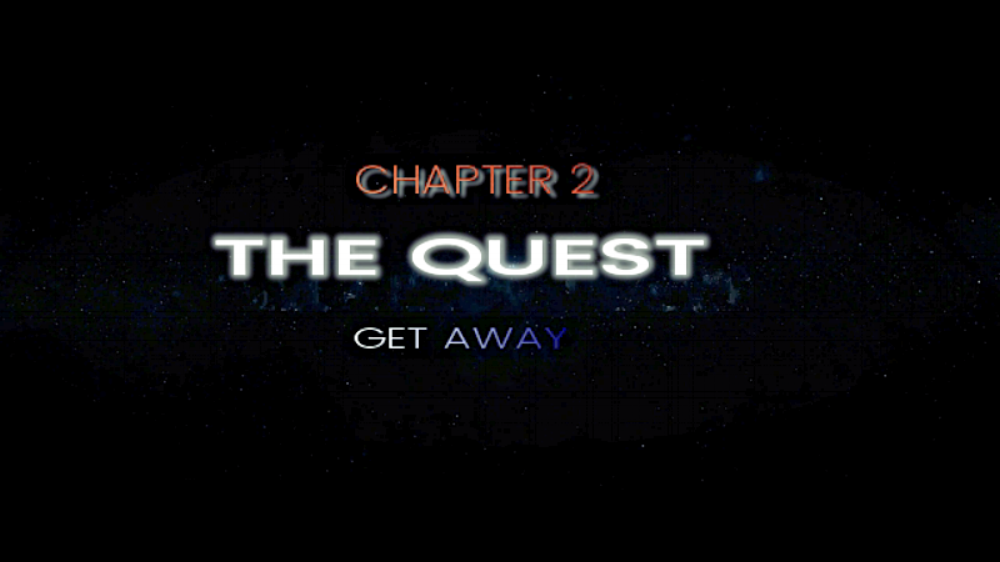 Chapter 2: The Quest    is about:  '' discover who you truly are''   A spiritual journey is a very individual and intimate quest to consciously deepen your insight about life. Some people decide to go on a spiritual journey in order to pose themselves profound questions about their life. The journey can, for instance, help them to better understand their purpose in life. Others seek to intensively study the nature of reality or wish to grow their understanding of the source…   Part One:   When a boy tries to strike up a conversation with a girl in a busy club, the space is suddenly lit up by rays of light, accompanied by a specific song and a cartoon like figure, Marty Mart, enters the club. The girl is distracted and in the midst of the excited, dancing crowd, he loses sight of her.  Wondering why he did not make an impression on the girl that he liked, he leaves the club and bikes home, while thinking about the incident in the club. Somehow, he cannot get the music out of his head. In a daze, he is cycling home and on his way he takes a break at the bank of the river. Frustrated, he brings out his water bottle and is ready to throw it in the water, when suddenly his phone rings. He looks at the screen, it is the cartoon like figure he spotted at the club.   Part Two:   After leaving the club, the girl has the feeling that during the next two weeks, everywhere she goes, there are obstacles and she feels like she has to change direction all the time to avoid them. She has the distinct feeling that something is trying to make it clear to her that she has to change her life. She finds new energy when she starts to communicate with the mysterious Marty Mart.   Part Three:   Ready for her journey to the unknown, she is suddenly surrounded by some energy. She feels as if she is dreaming and finds herself in the middle of a maze. A maze that seems to illustrate the search for herself. While walking through the maze, she meets another character. He accompanies her to the exit, where a sphere of light draws her in. It is time to wake up from the dream and start her new life...  To be continued