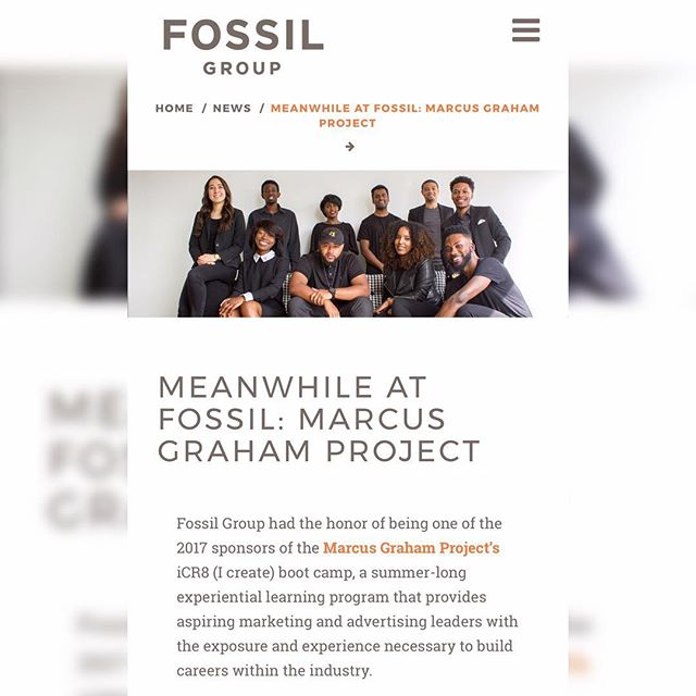 Thank you for the spotlight @fossil! It's been such an extraordinary summer working alongside the Fossil team. You will all be missed.
