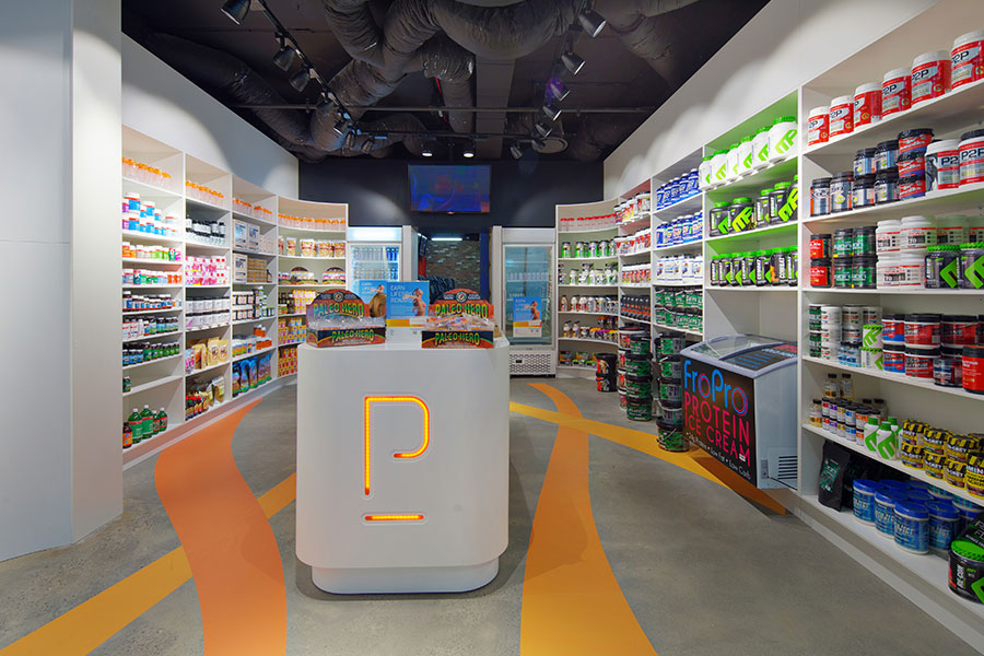Performa Supplements retail store