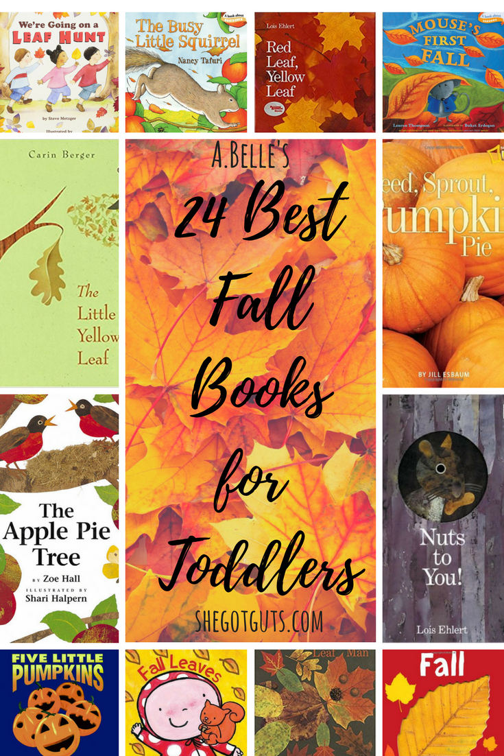 Best Fall Books for Toddlers - shegotguts.com
