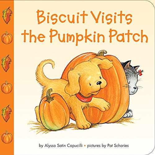 Bisquit Visits the Pumpkin Patch