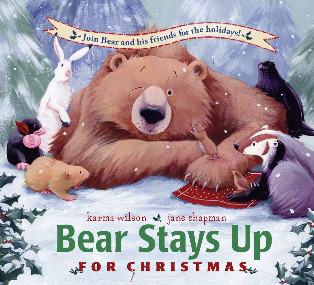 shegotguts - christmas books - bear wakes up for christmas.jpg