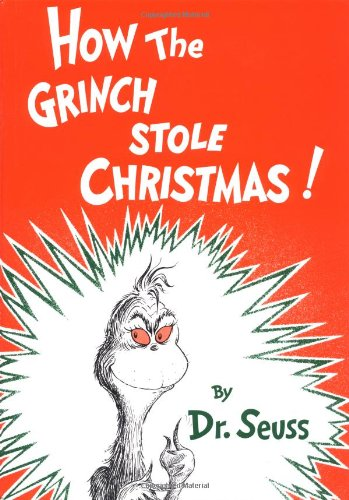 - Also a Dr. Seuss groupie, and this one is a classic that should belong to every library.   This needs no explanation, but shares the true meaning of Christmas using a cranky character, rhyme, and its written by a brilliant imagination.