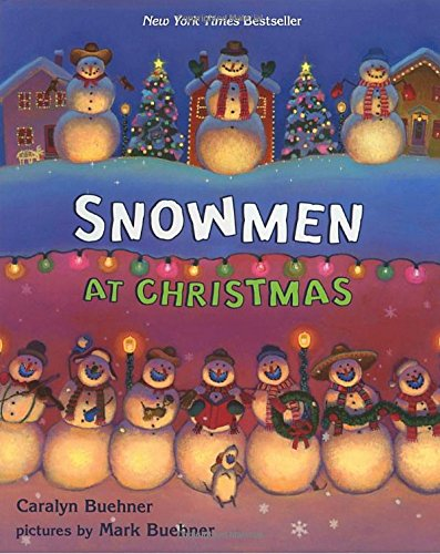 - Illustrations are beautiful in this rhyming book and the story is about how snowmen celebrate Christmas after everyone goes to bed.  This is about wordy for Adeline, but I modify the text and she loves it!  For an extra bonus, there are hidden animals on each page.