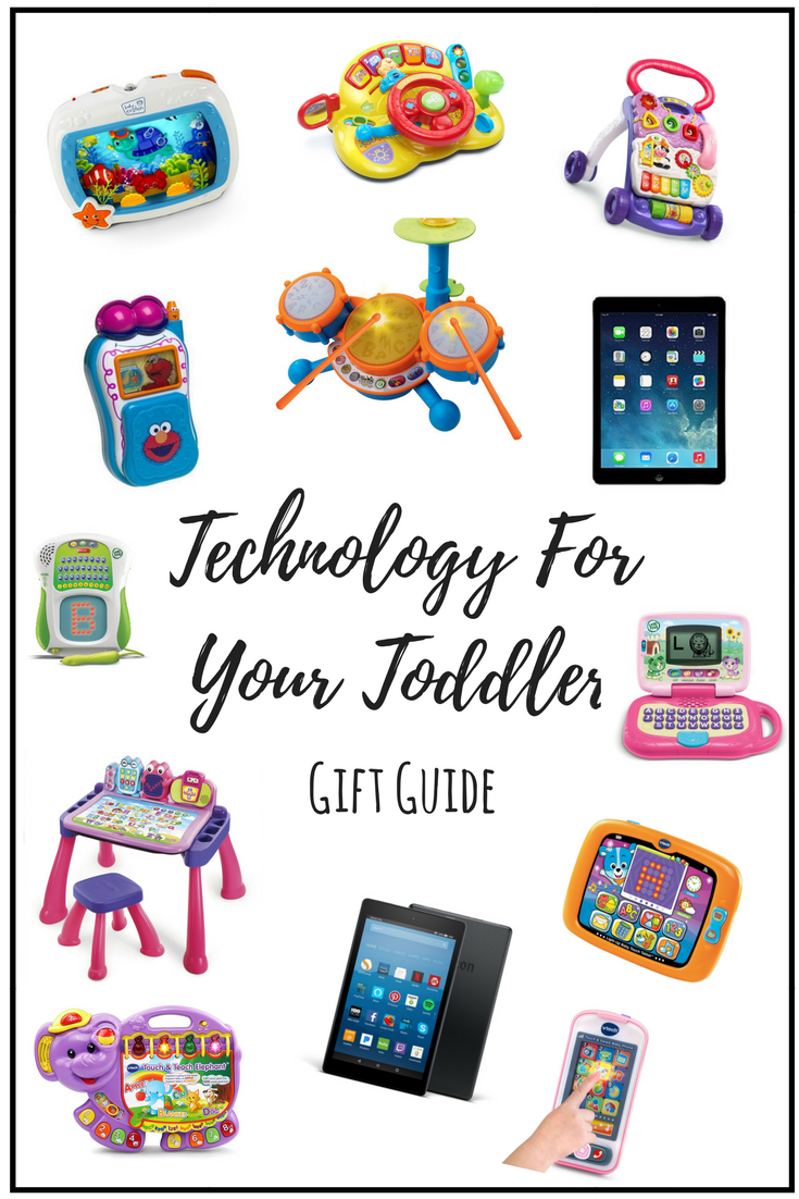 Technology For Your Toddler - shegotguts.com