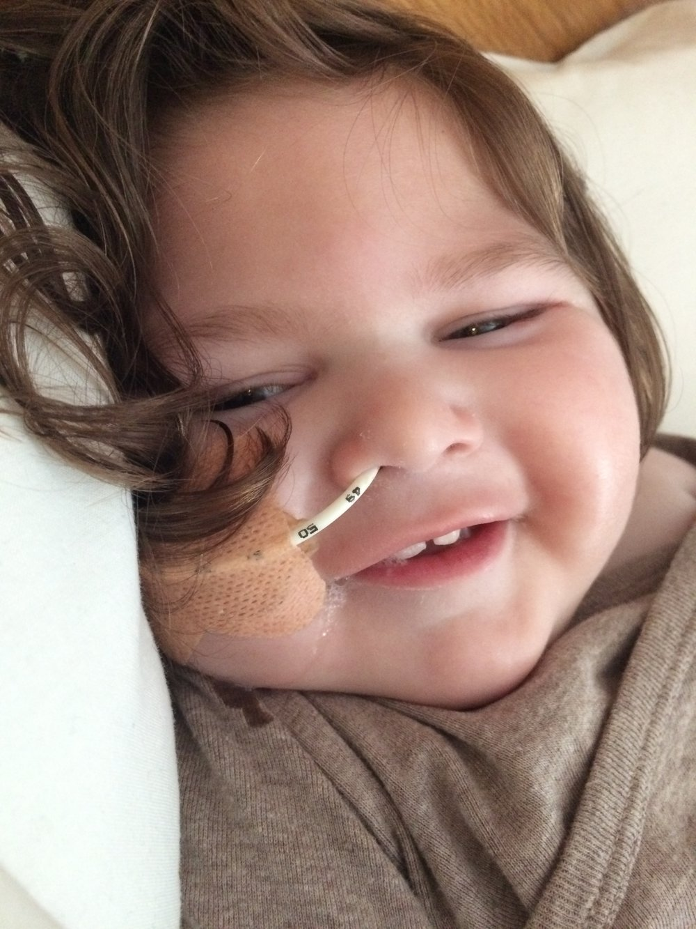 Tube feeding saved my little boy who can't swallow safely anymore - Leonie #AliLissencephely