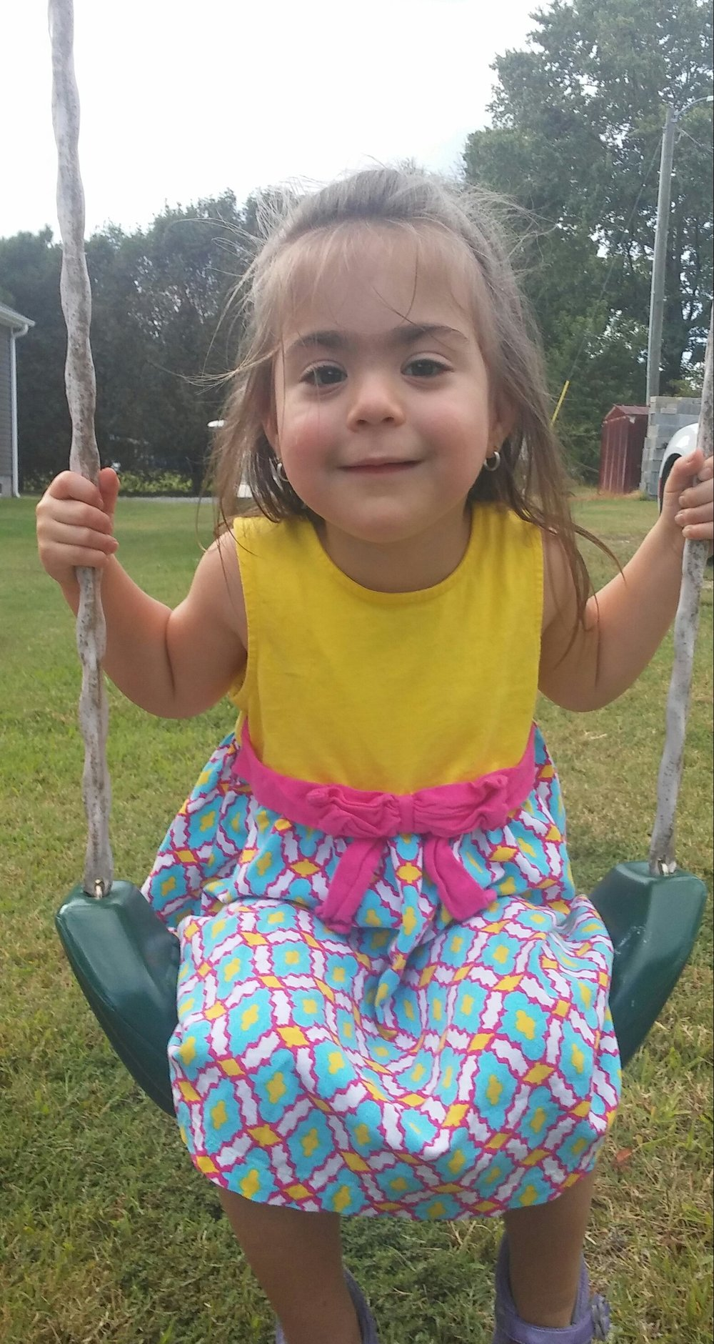 Mostly that people are afraid of the feeding tube. It is the best decision we have made so far for her health. - Jimmie Holt, Father of Raelyn Averie