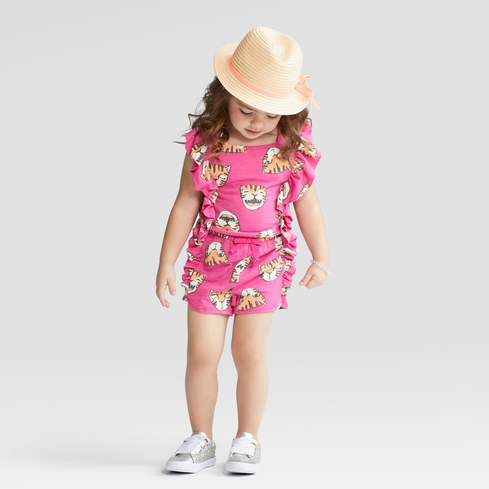 Cat & Jack Tiger Romper