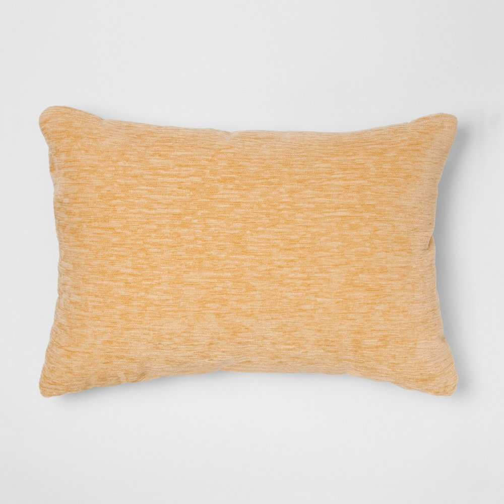 Yellow Oblong Pillow