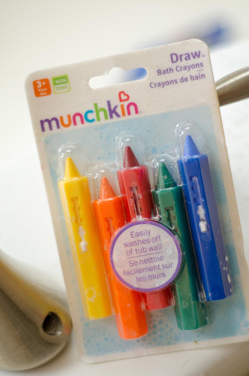 Bath Tub Crayons