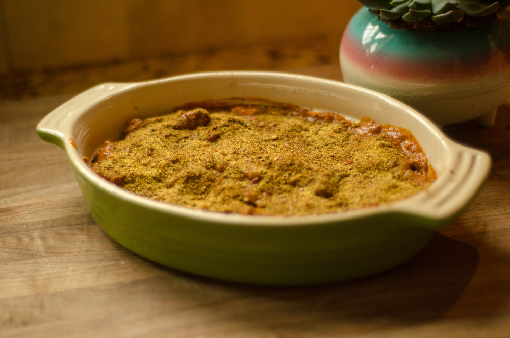 sprinkle taco seasoning -