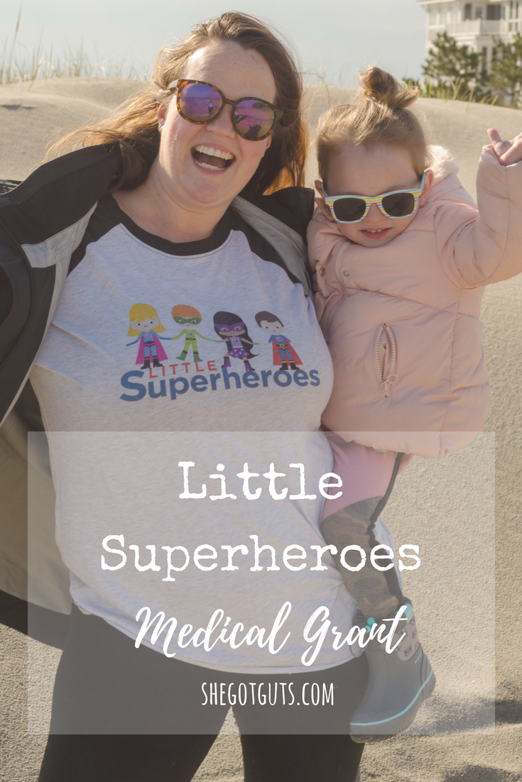 Superheroes Medical Grant - shegotguts.com