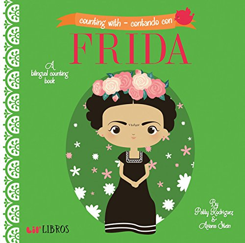 7. Frida, A Bilingual Counting Book - Each page features a number and objects to count (such as
