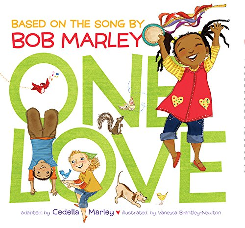 18. One Love - Adapted from one of Bob Marley's most beloved songs, One Love. In Cedella's adaptation, a determined little girl shows her family, friends, and neighbors how love and teamwork make a community a better place. It's a vibrant picture book where the words give the emotion, but the pictures tell the story. It's the story of a community coming together to turn a vacant lot into a park, One Love Park.