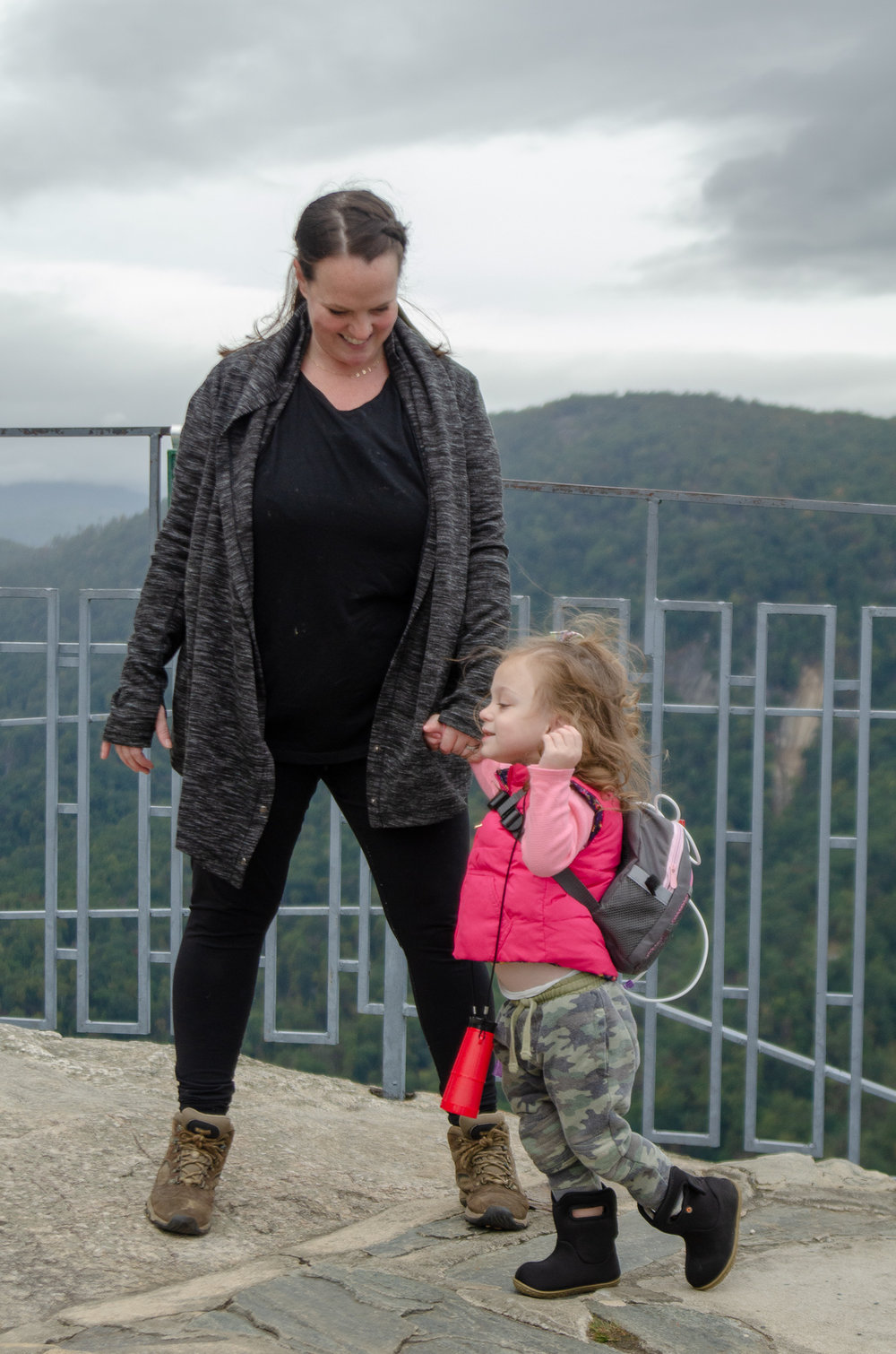 our favorite hiking gear for the entire family - she got guts