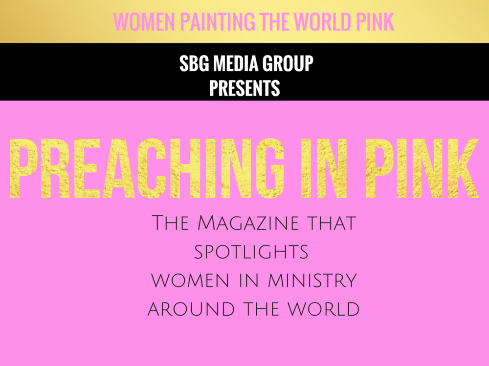 "ARE YOU READY TO GRACE THE COVER OF ""PREACHING IN PINK MAGAZINE"" ?"