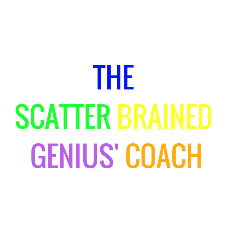 The Scatter Brained Genius' Coach