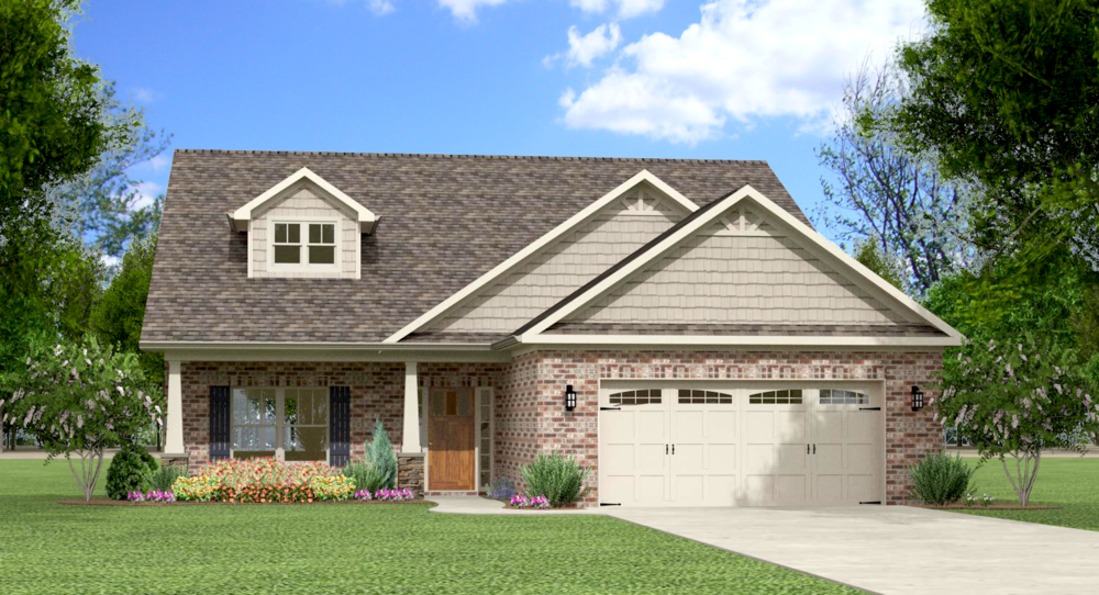 The Twain 2178 - 3000 SF Single Story with Optional Bonus Room 3 - 5 Bedroom | 2 - 3 Bath Available in: Greenbrier Hills On your Lot