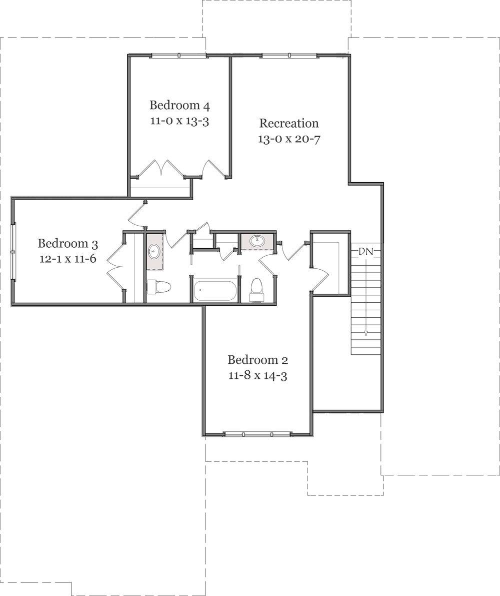 Second Floor Line DRawing - GBW136.jpg