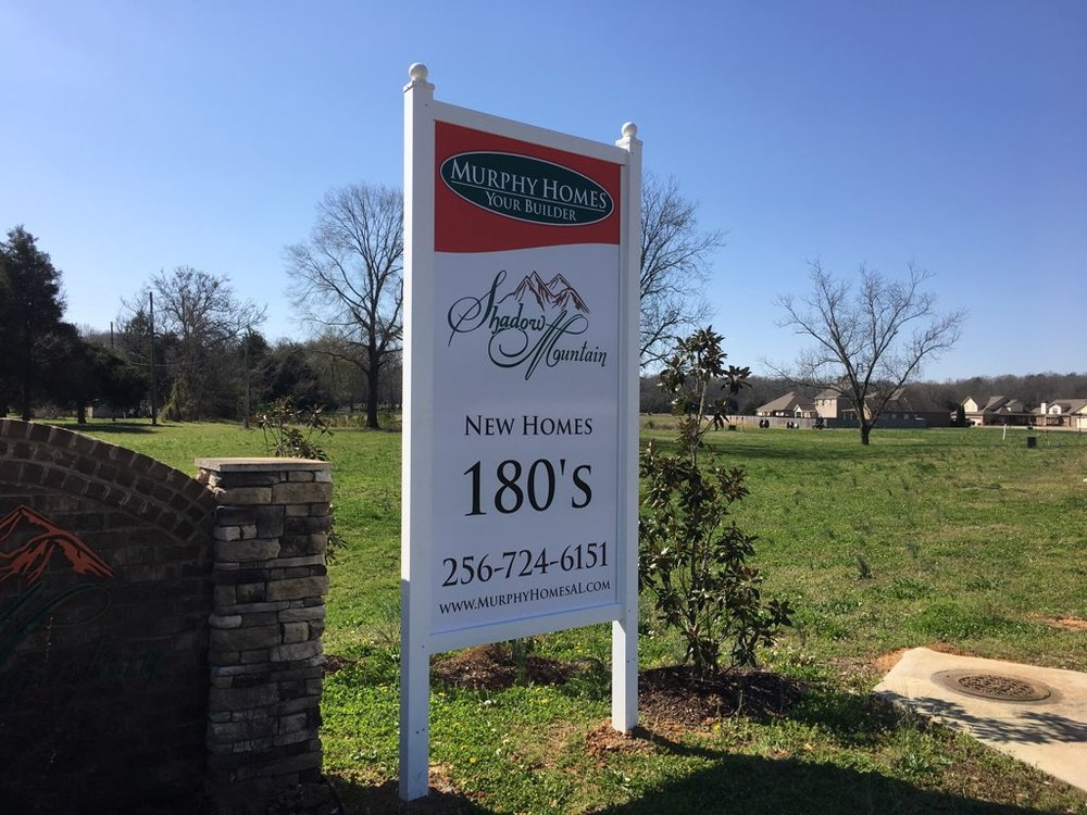 Shadow Mountain - New Homes in Priceville from the 180's