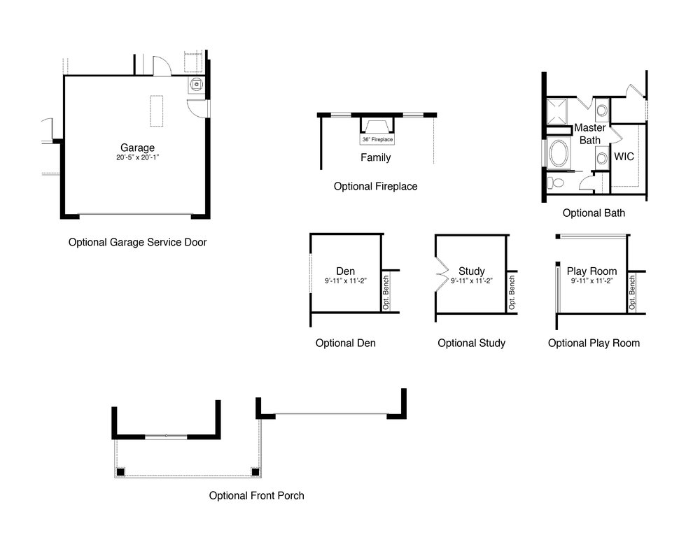 Home Plan Options.