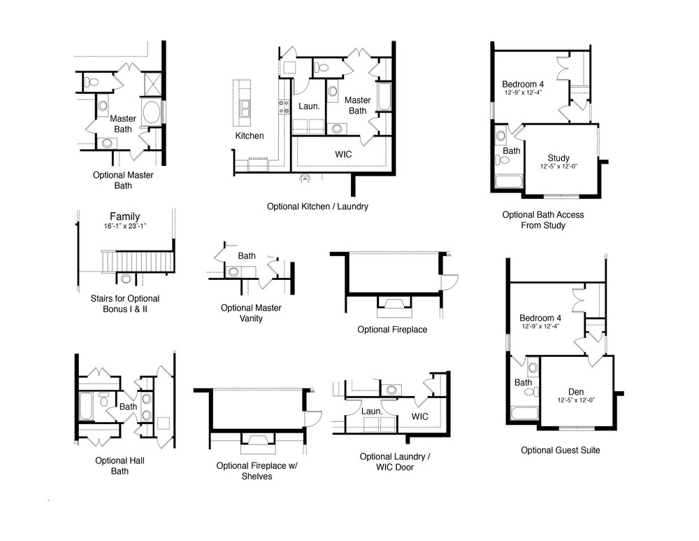 Home Plan Options