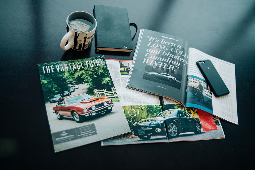 The Vantage Point Magazine & Aston Martin Quarterly Magazine