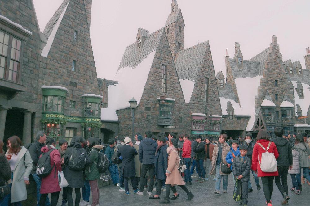 Universal Studios Japan Hogsmeade Village 4