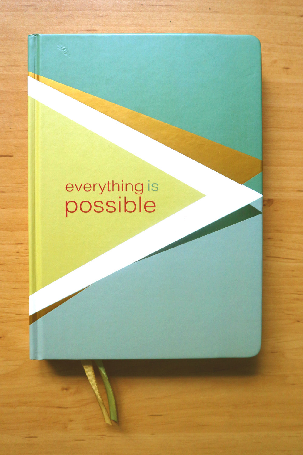 Everything is possible belle du jour bdj planner 2017