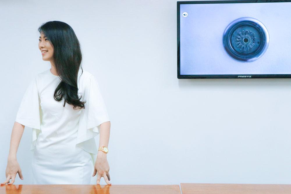 Joana Diane, fashion mentor at Integra's School of Art & Media