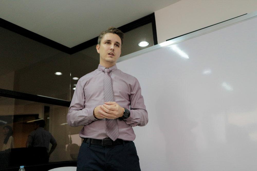 Kres Jacobsen, Integra's Senior academic advisor / ocassional lecturer for Business & Management